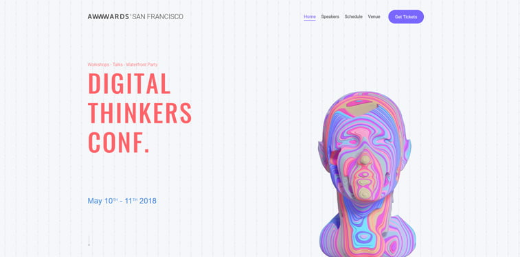 Awwwards SF 2018