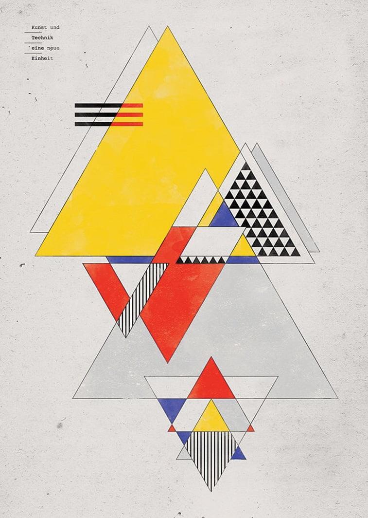 Bauhaus geometry Bauhaus Movement Magazin