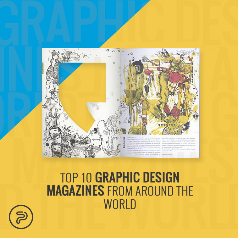 Top 10 graphic design magazines from around the world