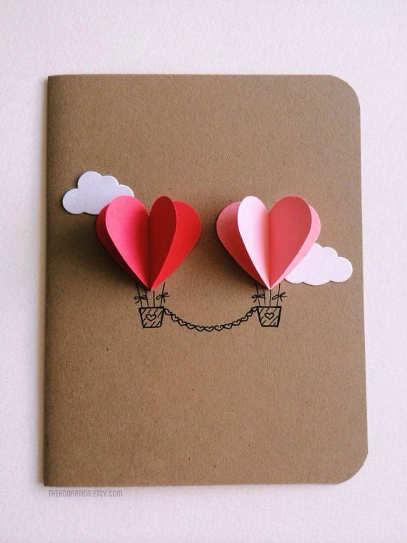 Creative Valentine's Day card ideas 1