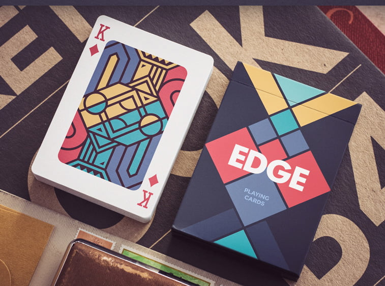 Edge playing cards deck Dribbble