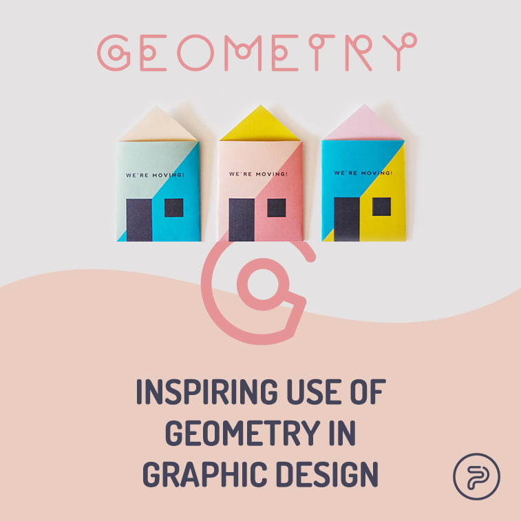 Inspiring use of geometry in graphic design