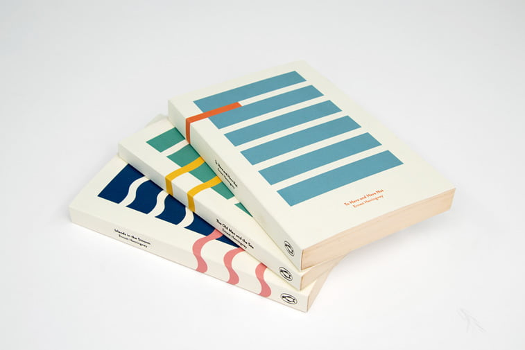 Hemingway and the Sea Book covers behance