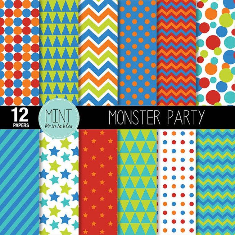 Mint paper printable Pinterest