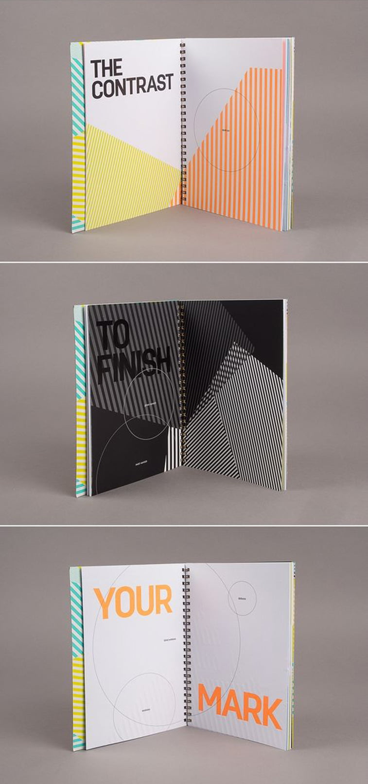 Oxygen brand identity Source: Pinterest