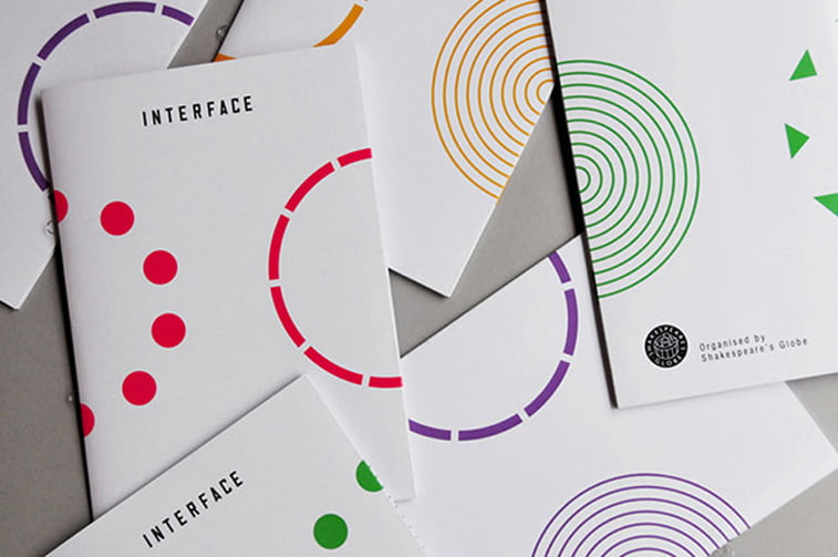 Patrick Fry Identity for Shakespeares Globe Interface event Its nice that