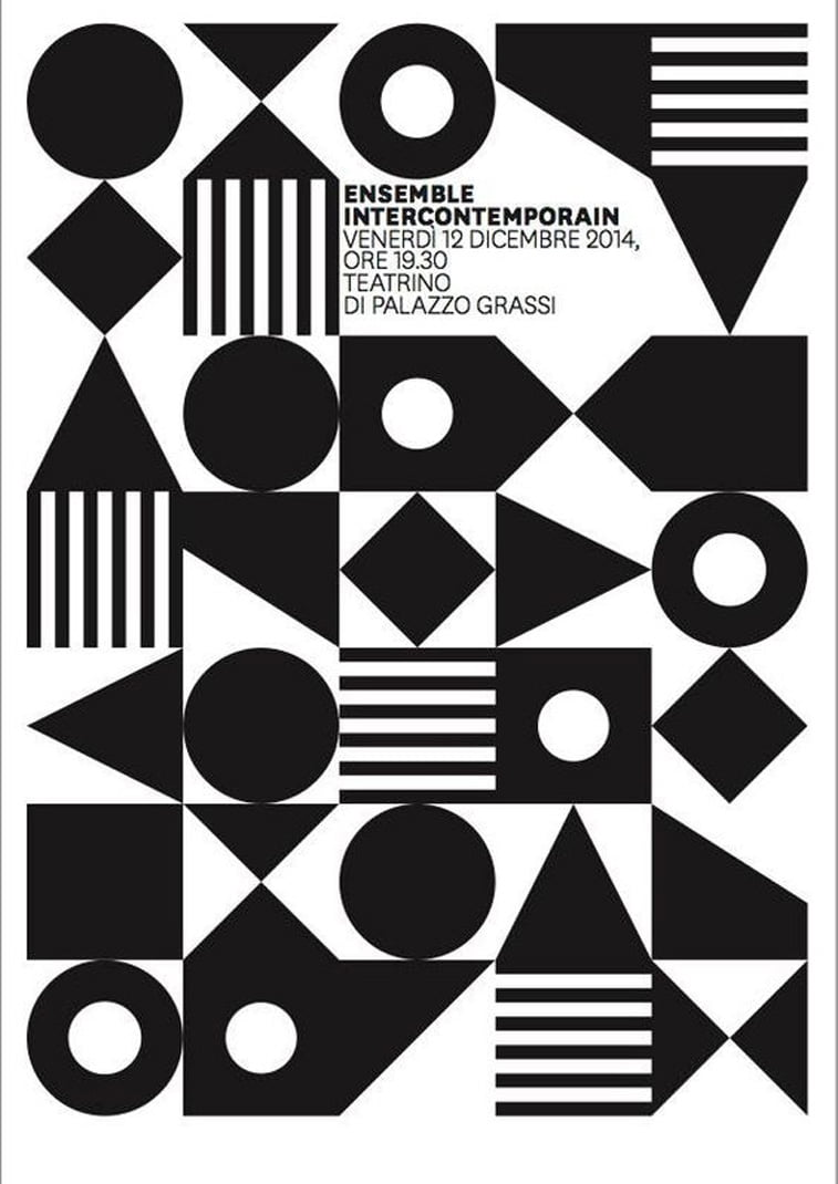 Poster geometry event Pinterest