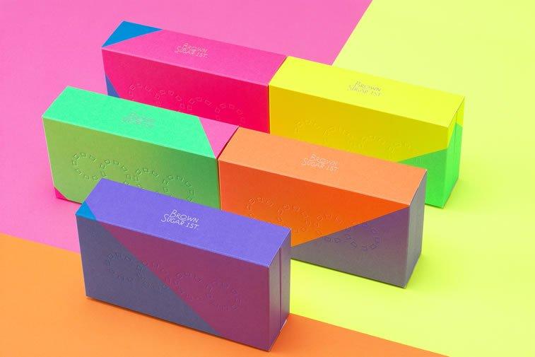 bold packaging design brown sugar