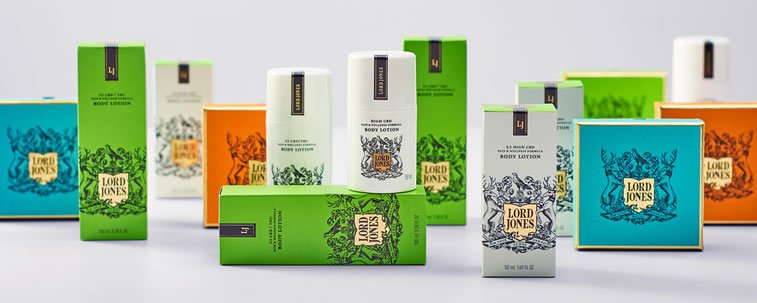 bold packaging design lord jones