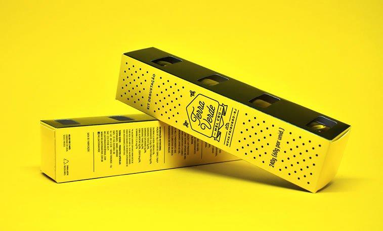 bold packaging design terra verde honey
