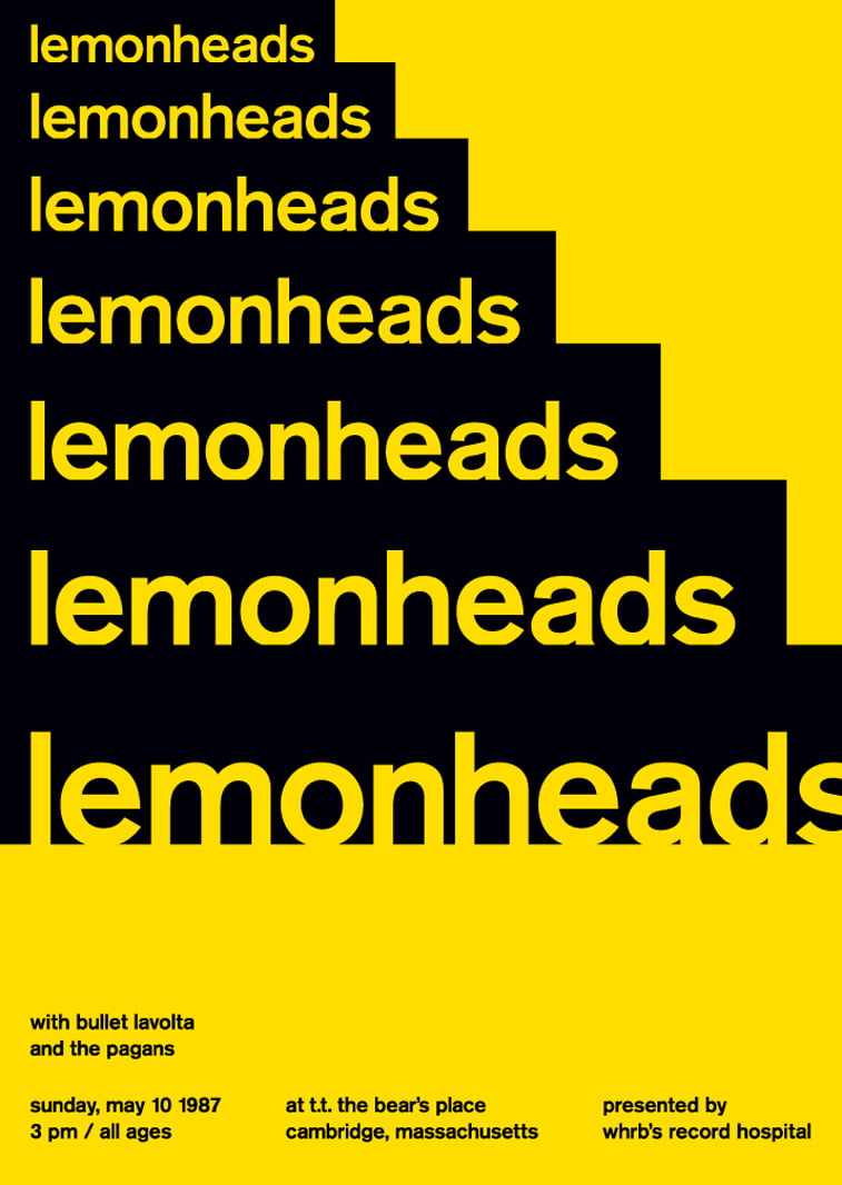 lemonheads 2 swissted poster