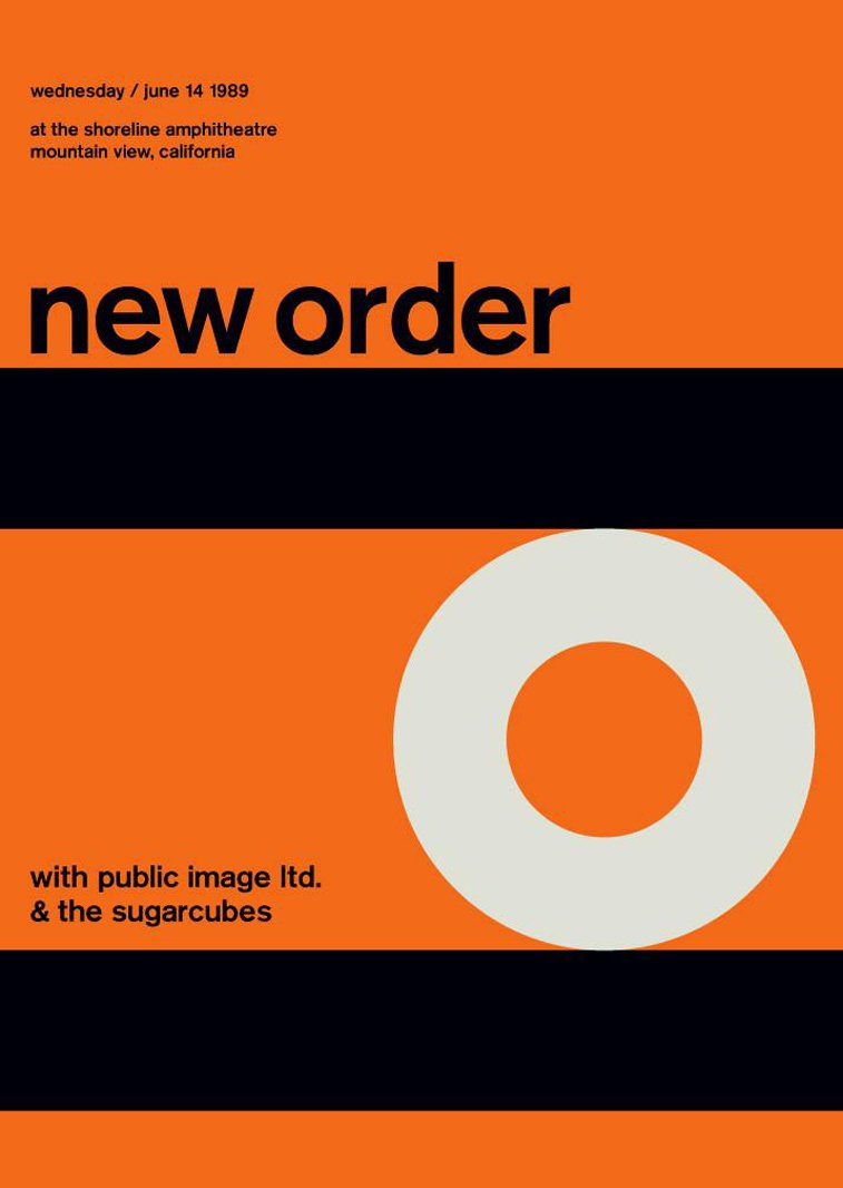 new order swissted poster