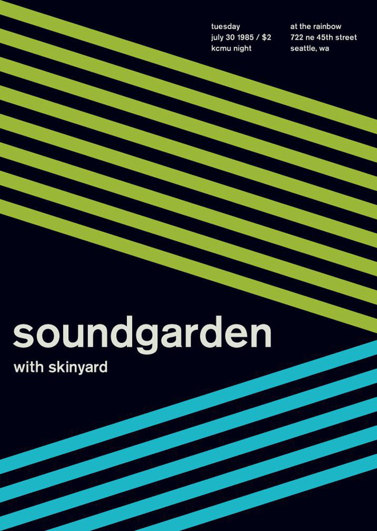 soundgarden swissted poster