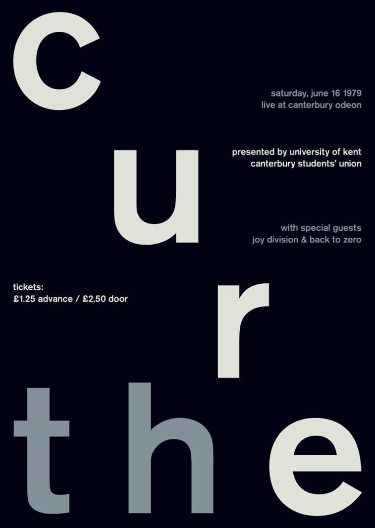 the cure 2 swissted poster