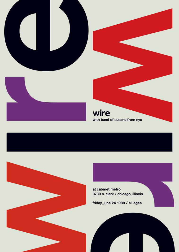 wire swissted poster