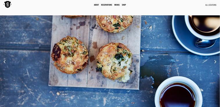 Caravan kreativni sajtovi restorana