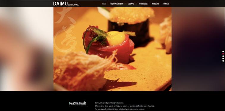 DAIMU kreativni sajtovi restorana