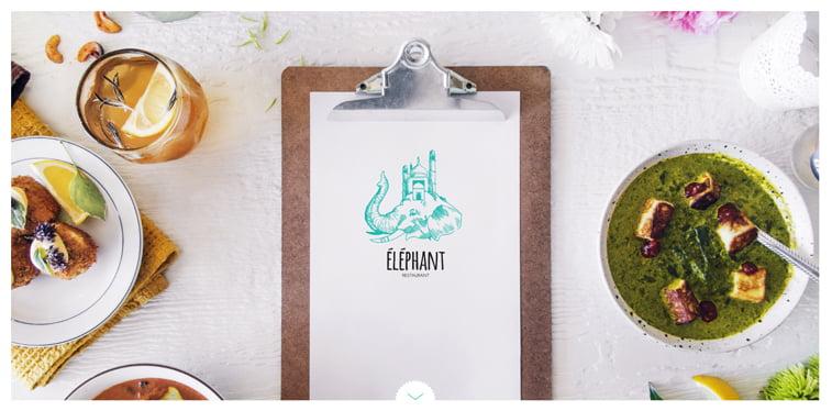 Elephant kreativni sajtovi restorana