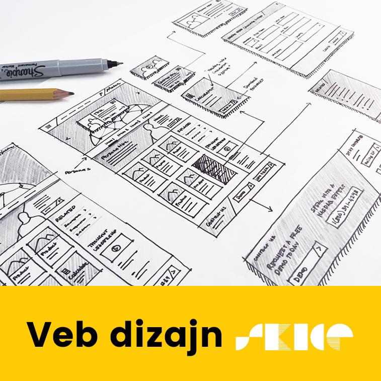 Dobri primeri skica za veb dizajn