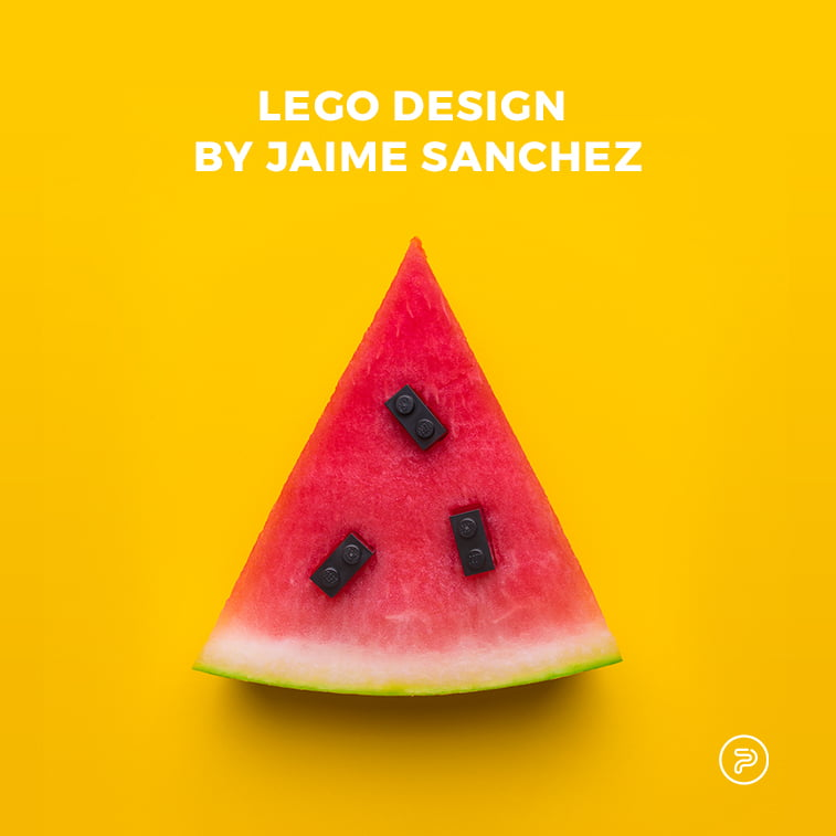 Pop Art Lego design by Jaime Sanchez