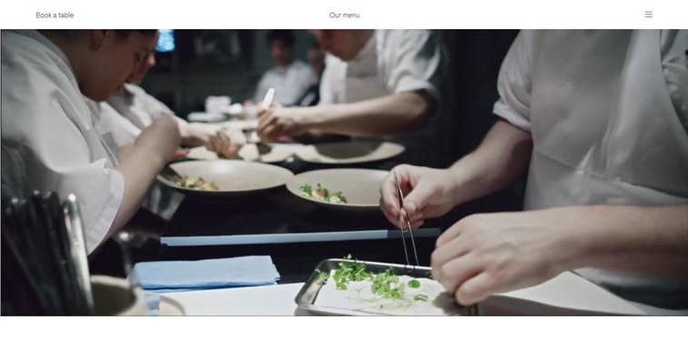 MAaemo video prezentacija kreativni sajtovi restorana