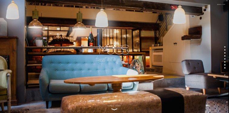 Le Mugs kreativni sajtovi restorana
