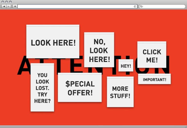 dizajn web stranice reklame