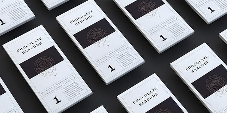 dizajn cokoladnih omota barcode 1