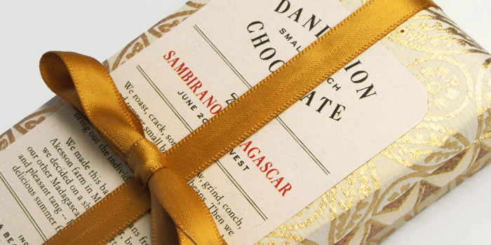 dizajn pakovanja za cokoladu dandelion 1