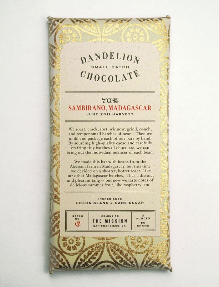 dizajn pakovanja za cokoladu dandelion 2