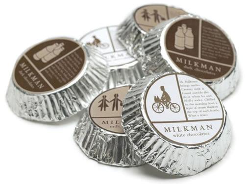 dizajn sekundarnog pakovanja za cokoladicu milkman 1