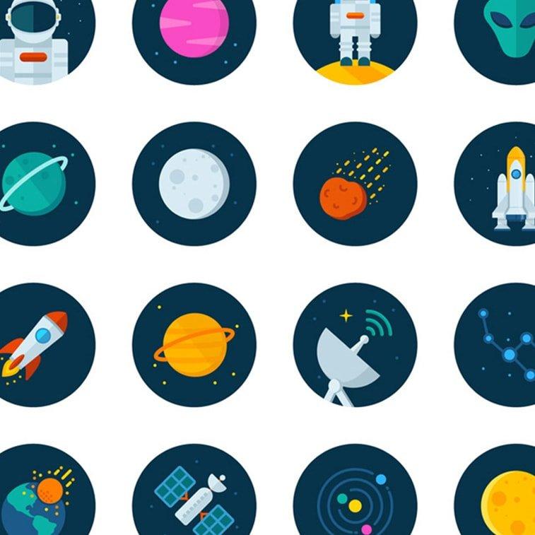 Atraktivne kolekcije grafičkih ikonica