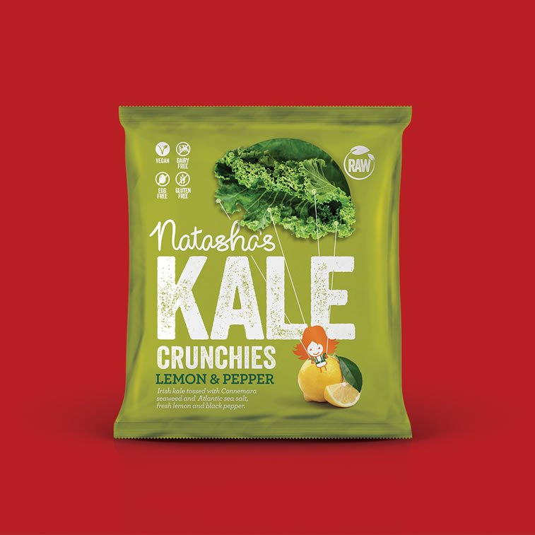 kale healthy snacks packaging 2