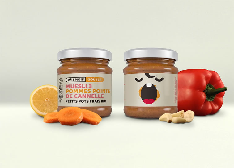les bocaux spread packaging design 1