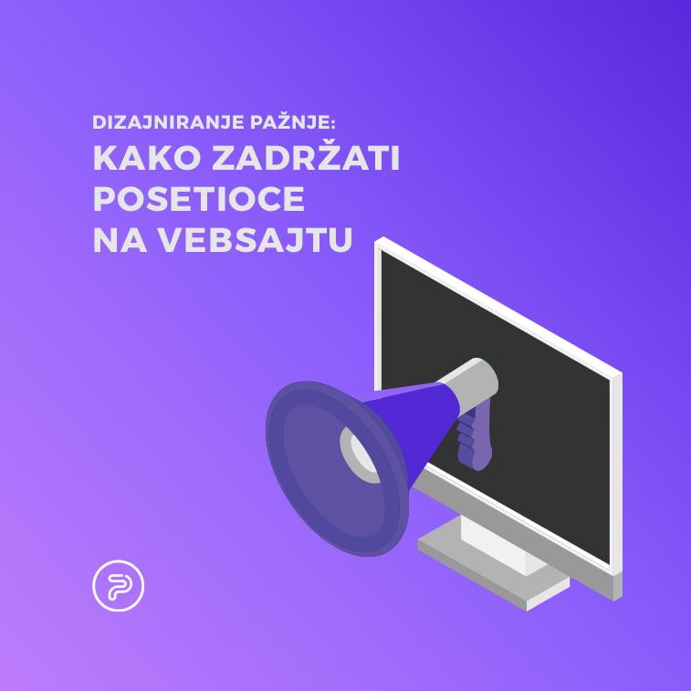 UX Dizajn: Kako zadržati posetioce na web sajtu