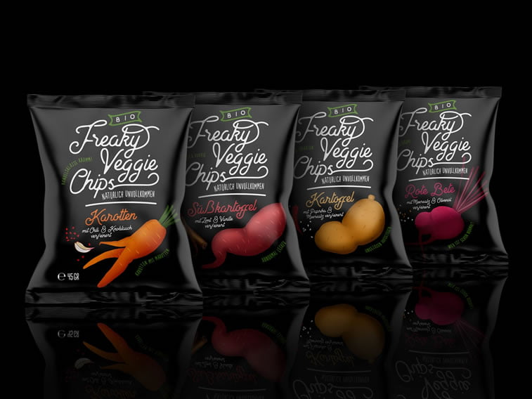 veggie chips packaging design idea 1