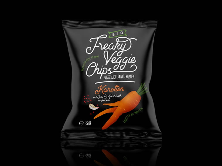 veggie chips packaging design idea 2