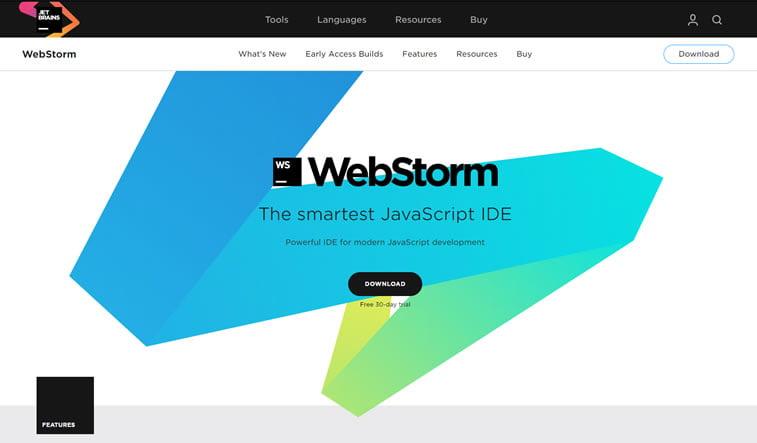 webstorm code editor