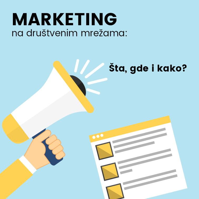 Marketing na društvenim mrežama: Šta, gde i kako?