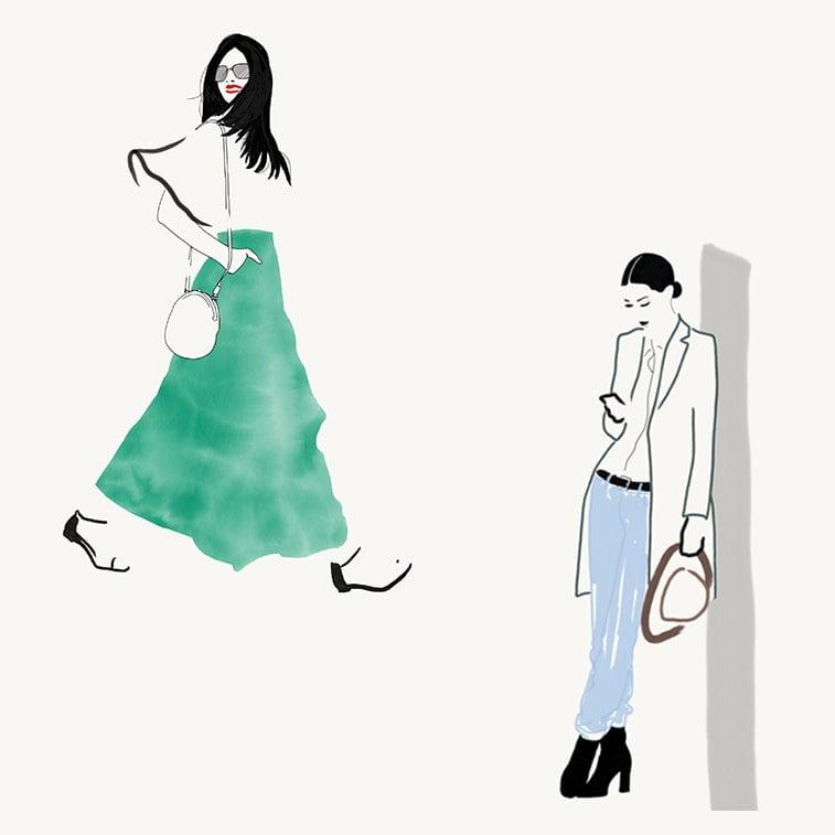 Modne ilustracije Rosio Vine