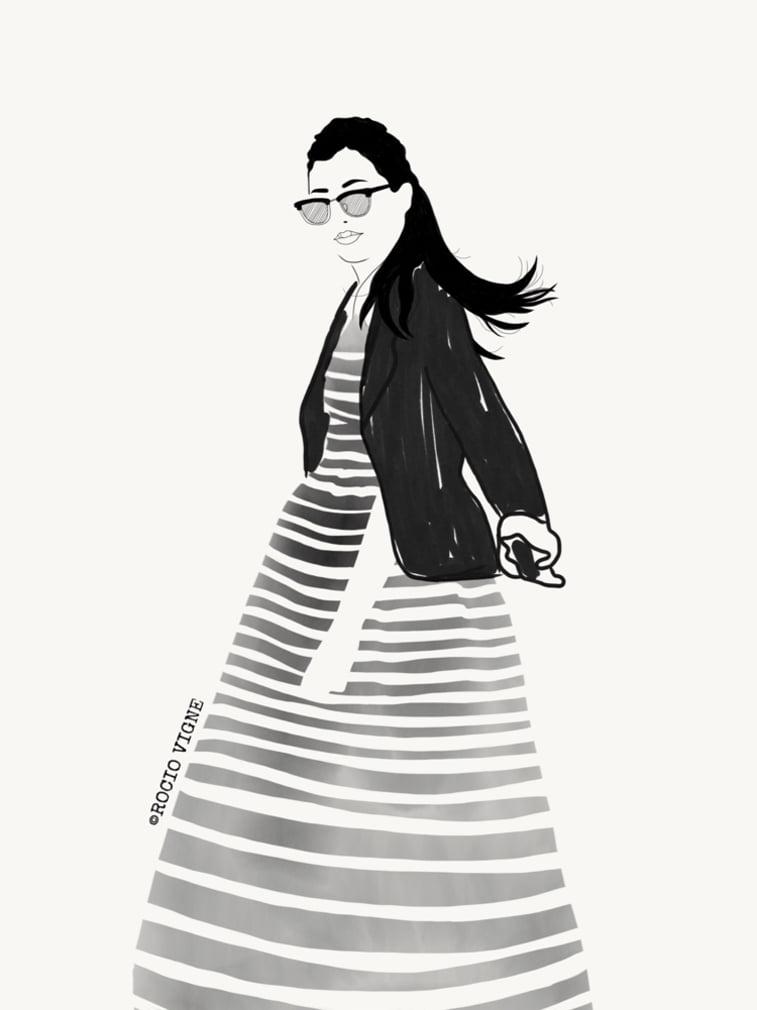Rocio Vigne modna ilustracija 10