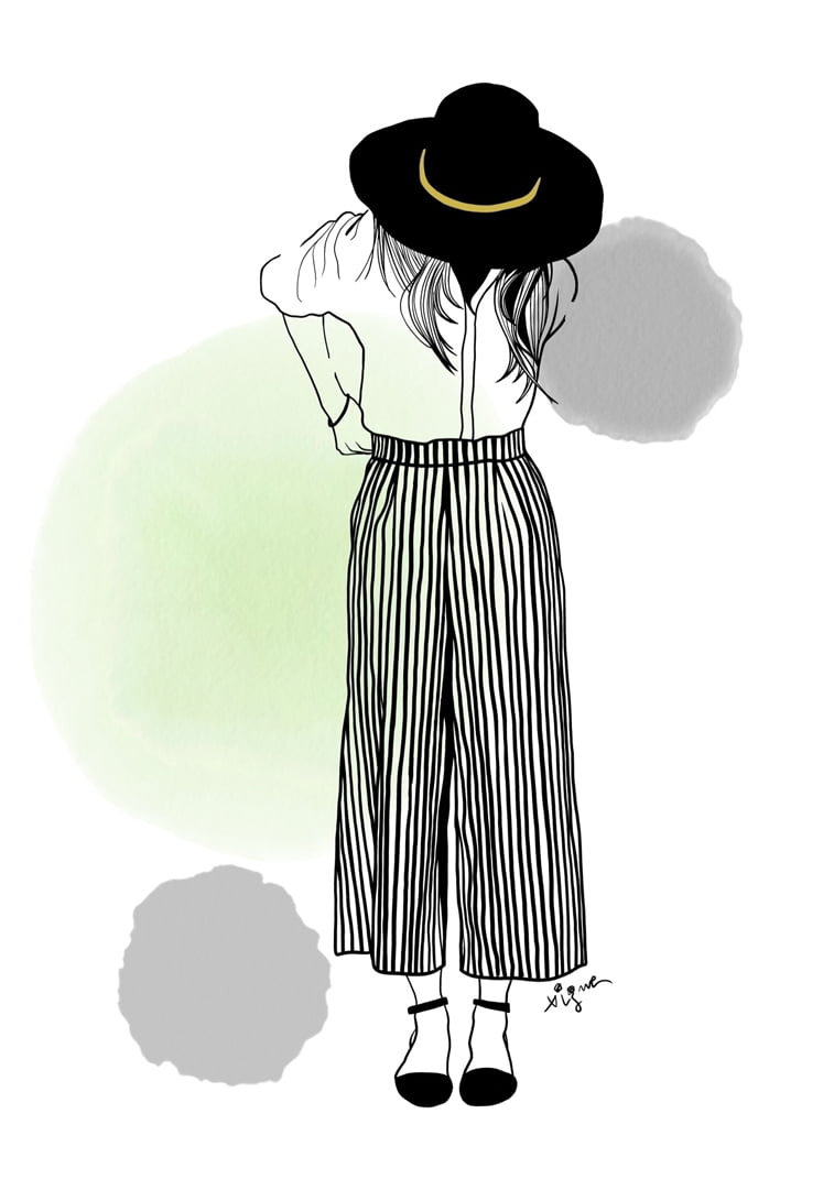 Rocio Vigne modna ilustracija 12
