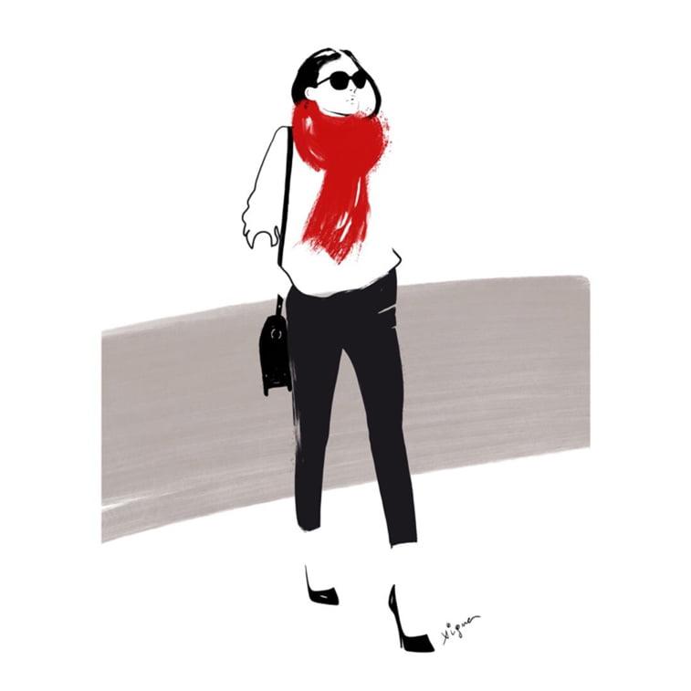 Rocio Vigne modna ilustracija 15