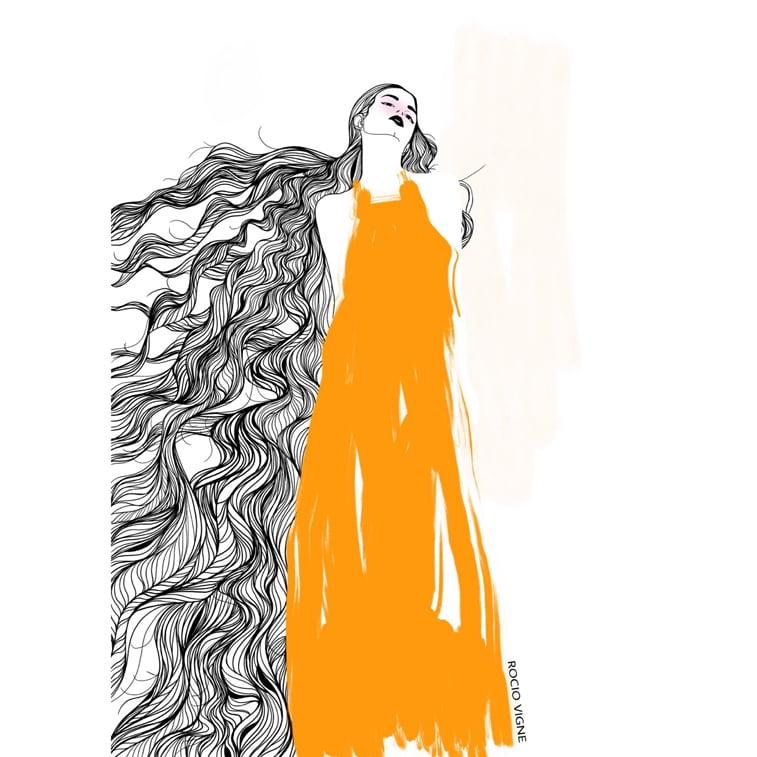 Rocio Vigne modna ilustracija 16