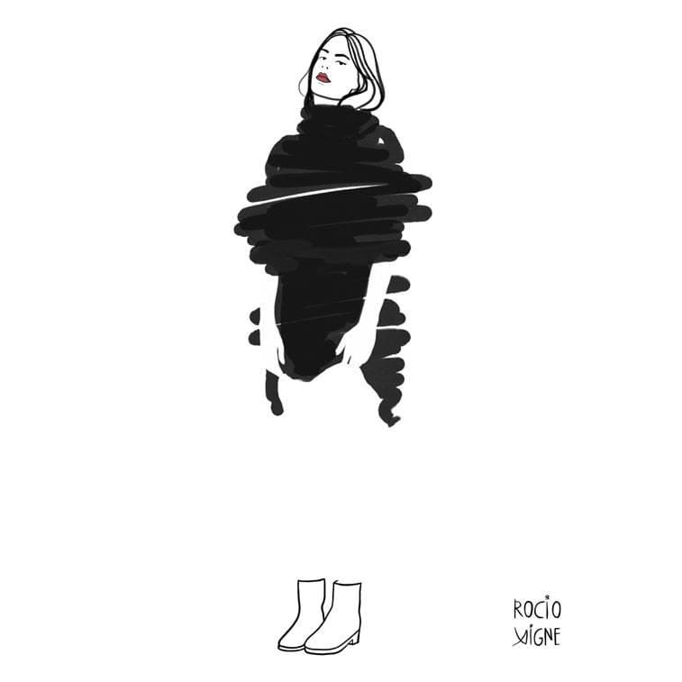 Rocio Vigne modna ilustracija 16a