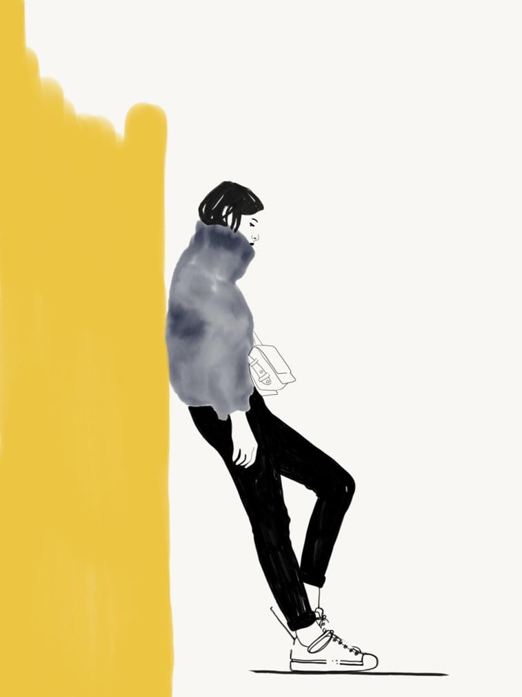 Rocio Vigne modna ilustracija 4