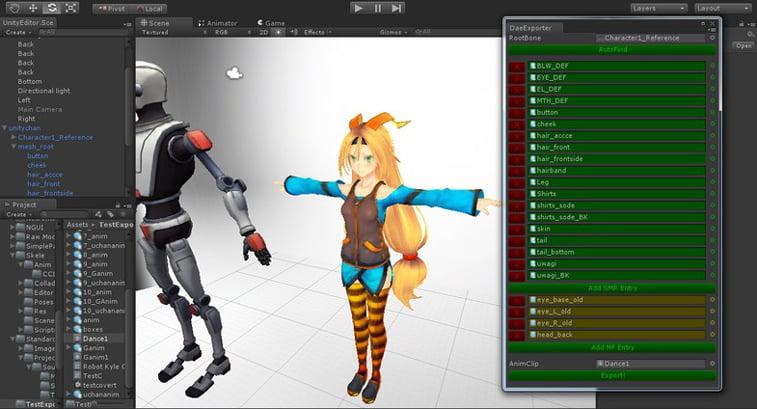 Unity Asset Store motion graphics