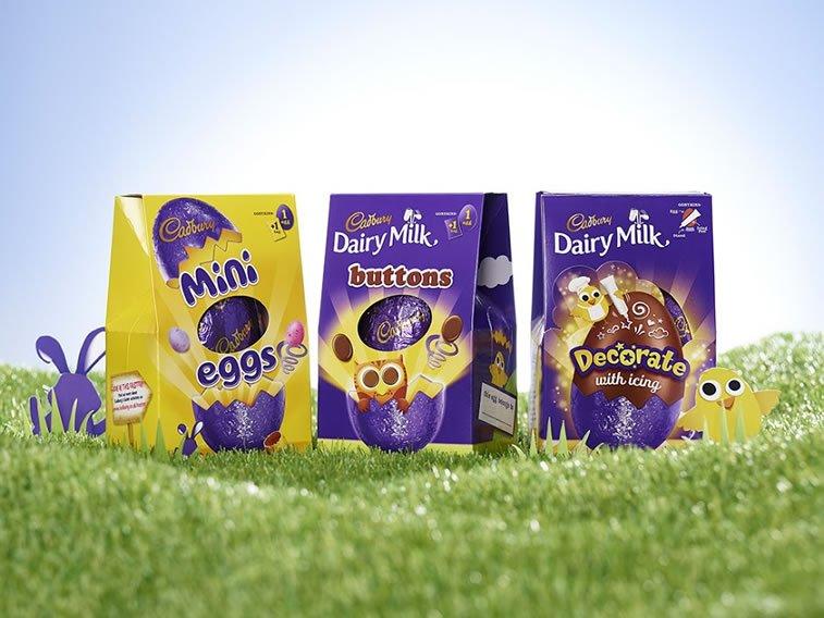 cadbury easter eggs packaging design 1