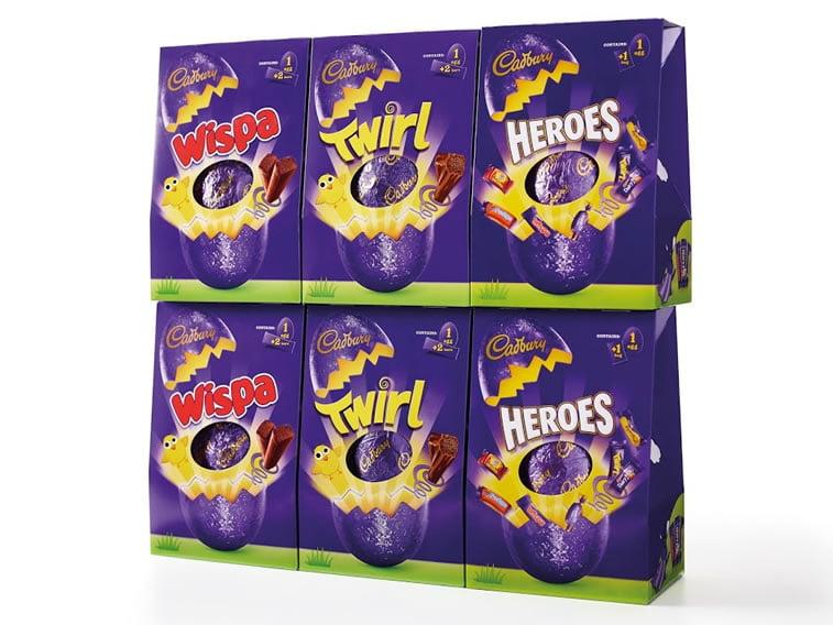 cadbury easter eggs packaging design 3
