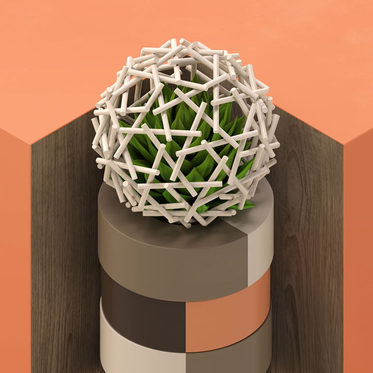 geodesic centerpieces 2